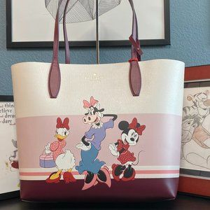 Disney x Kate Spade Minnie Mouse Clarabelle Tote